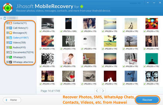 Jihosoft Android Phone Recovery is an application that is helpful in recovering data from smartphones and tablets that are powered by the Android platform. This tool allows users to find important information that has been accidentally or intentionally deleted on a compatible Android...