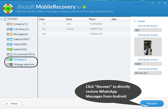 whatsapp deleted chat recovery android
