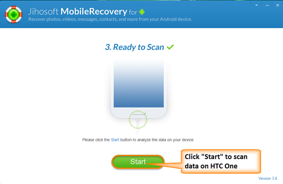 Scan deleted files on HTC One