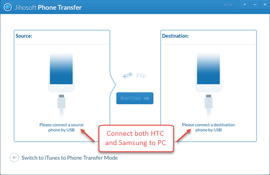 Connect Your HTC and Galaxy Phone to PC
