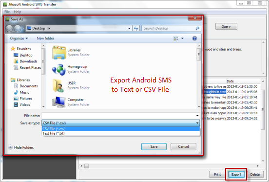 how to create a txt file from android