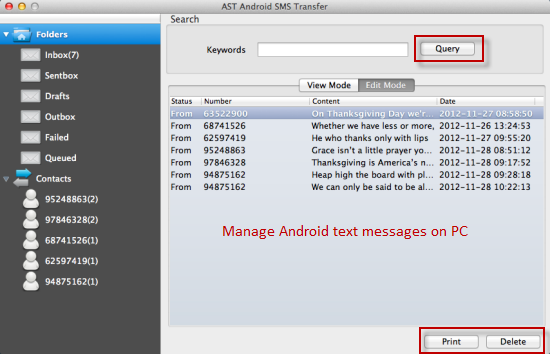 How to Save Android Text Messages to Computer