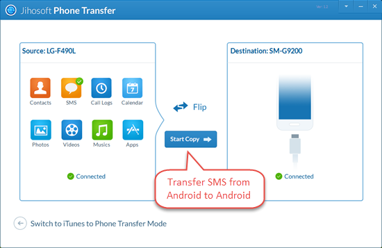 How to Transfer SMS from Android to New Android Phone