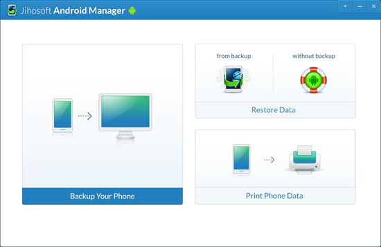 Windows 7 Jihosoft Android Manager 2.1 full