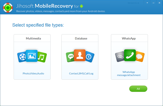 Windows 7 Jihosoft Android Data Recovery 8.55 full