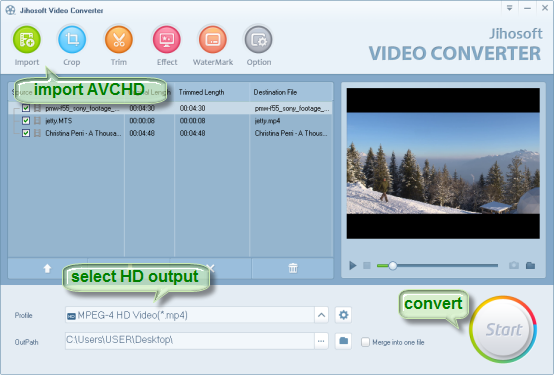 How to Upload AVCHD to YouTube for Sharing