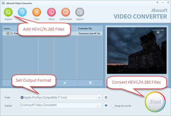 HEVC Converter: Convert HEVC/H 265 Files on Windows/Mac