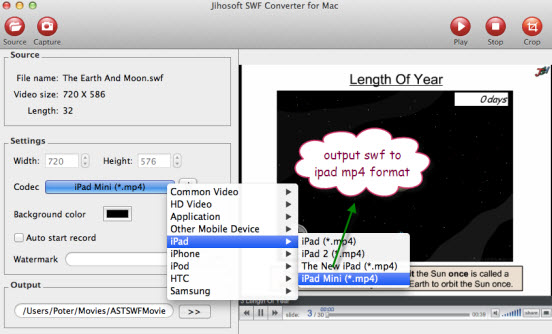 how to convert swf to pdf on mac