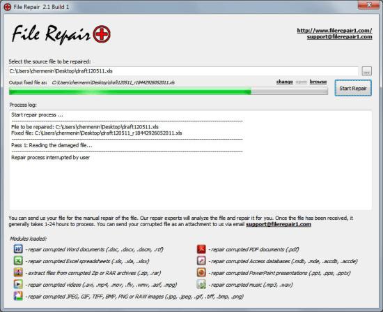 Grau video repair tool 1. 9. 0. 1 | software downloads | techworld.