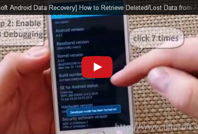 Video Guide about how to recover Data from Android Phone