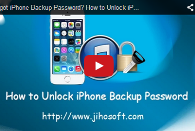 Video Guide about how to decrypt iPhone/iPad/iPod Backup Password