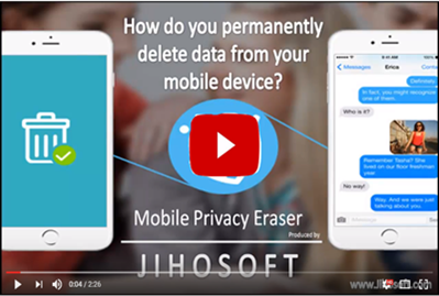 Video guides for Jihosoft Mobile Privacy Eraser