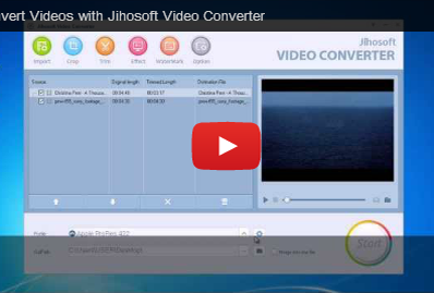 Video Guide about how to convert video