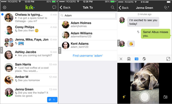 Get back deleted kik messages from your friends