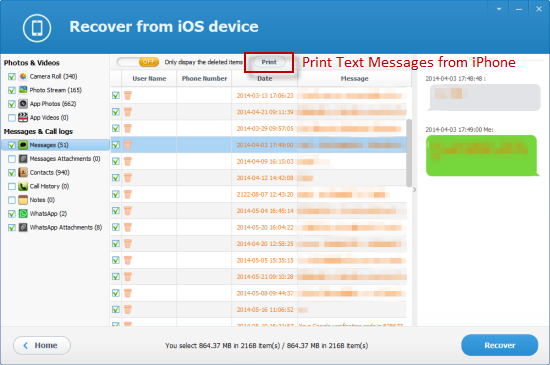 can you print from an iphone how to print text messages iphone 2907