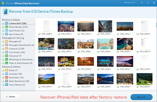 How to Get Data Back after Restoring iPhone/iPad