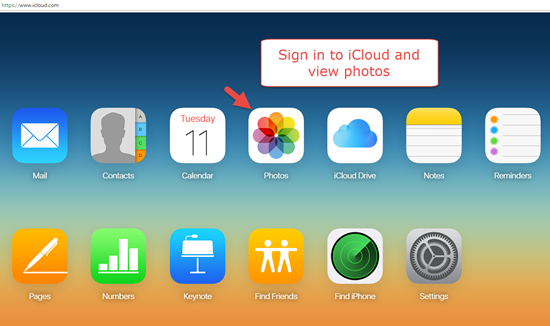 Retrieve iPhone/iPad Photos and More from iCloud Backup