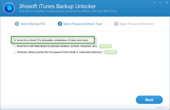 iphone backup password recovery crack