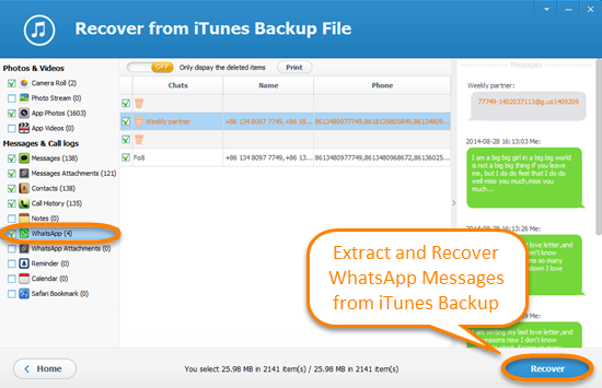 Free ways to recover whatsapp messages from iphone backup the above methods have their own merits and drawbacks choose the one that can actually help you the best if you didnt enable icloud backup service ccuart Image collections