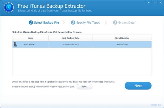 Top List of Free iPhone Backup Extractor Tools