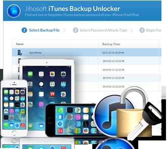 Jihosoft itunes backup unlocker free download