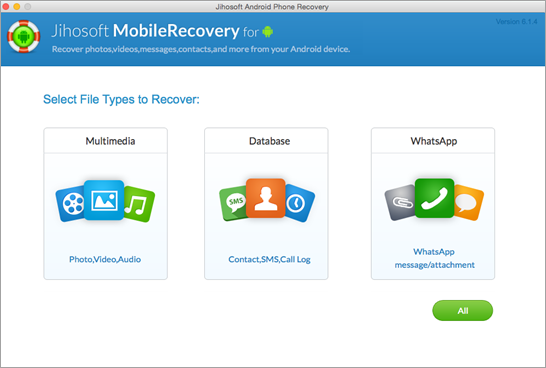 Recover data from Android devices on Mac.