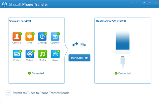 Transfer Data between Android and iOS Devices