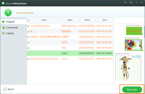 jihosoft whatsmate 1.3.6 registration key