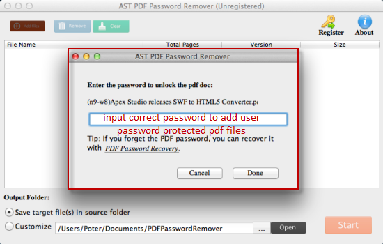 How to Use Jihosoft PDF Password Remover for Mac