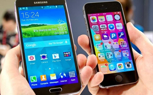 Iphone 5s vs galaxy s6