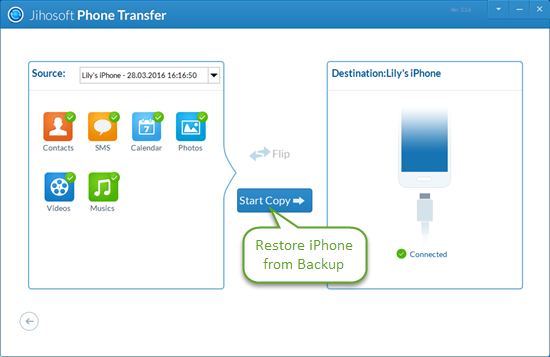 restoring iphone from backup whatsapp free for iphone without itunes 16019
