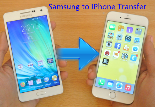 Transfer from iphone to samsung