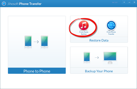Steps to Transfer Music from iTunes to Google Nexus 6P/5X/6/5