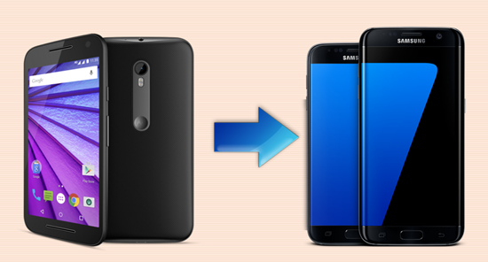 Transfer Data from Motorola to Samsung Galaxy S7/S6