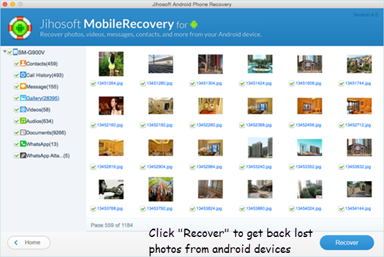 Jihosoft Android Phone Recovery is a powerful android recovery program. It allows you to recovers lost contacts, photos, audio, video, WhatsApp messages, text message and vibe and more other lost data. This program is very simple, and size of the latest install available is 20.66 MB.