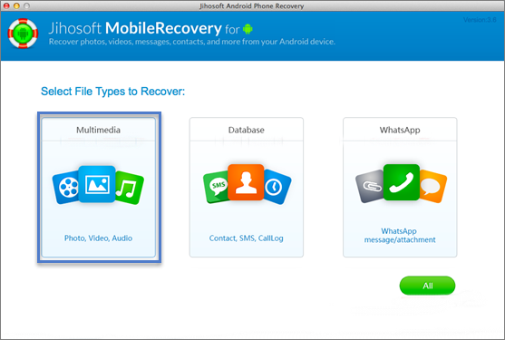 Recover Deleted Photos from Android Phones