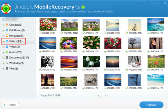 Step-by-step Guide to Recover Deleted Photos from Droid Razr