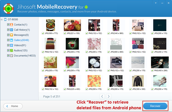 How to Recover Deleted/Lost Files from Android Devices