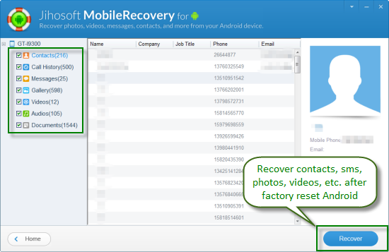 How To Recover Data After Factory Reset Android