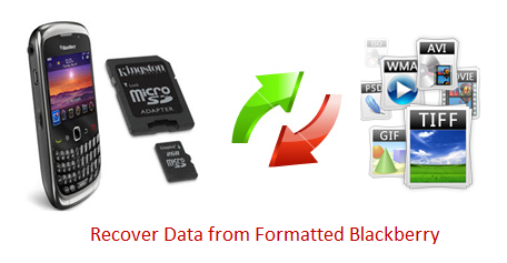How to Recover Lost Data from Formatted Blackberry