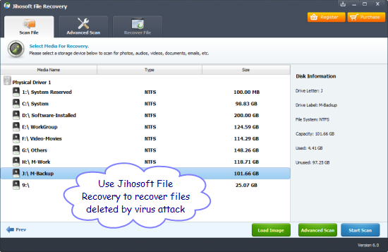 delete file backup software