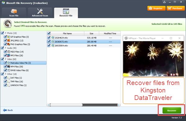 Easy Steps to Recover Files from Kingston DataTraveler