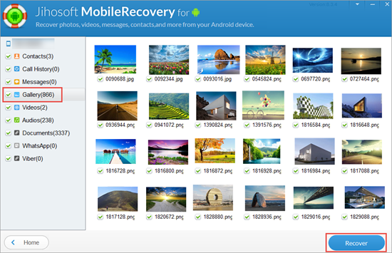 Recover Deleted Photos from Samsung Galaxy Note