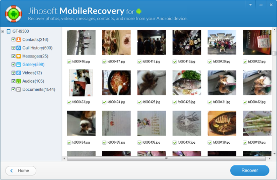 Recover Deleted Photos from Sony Xperia Z3