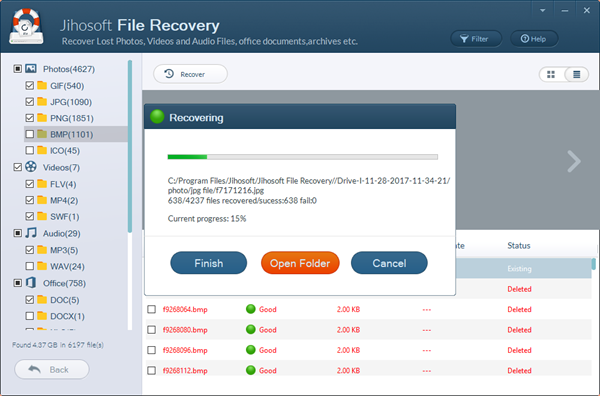 Recover Lost Files