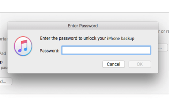 iTunes Asking for iPhone Password I Have Never Set