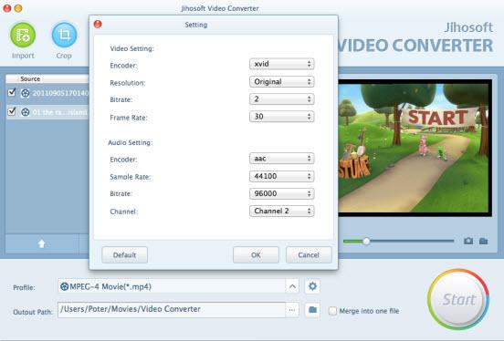 Jihosoft HD Video Converter for Mac 2.0 full