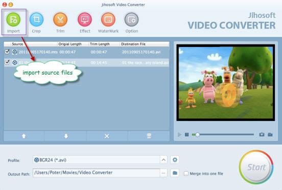 Jihosoft Video Converter for Mac 3.1 full