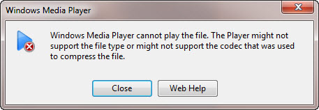 Install avi codec for wmp and play avi videos in windows media player.