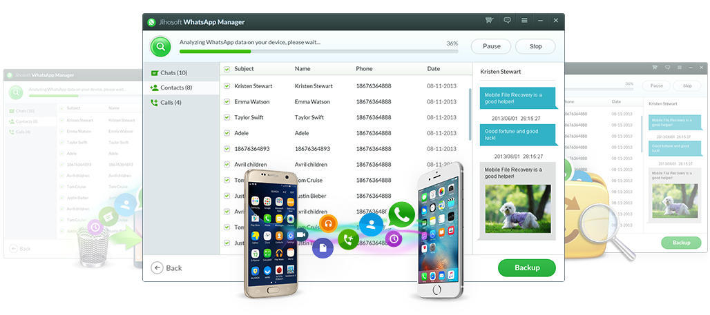 Transfer WhatsApp Data between Android and iOS